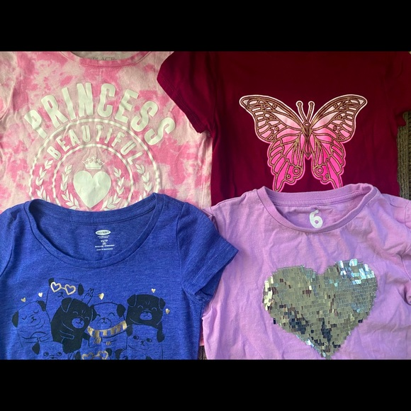 Old Navy Girl Xs and S shirts
